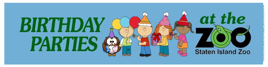Birthdays Staten Island Zoo
