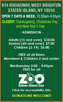 Staten Island Zoo Staten Island Zoo